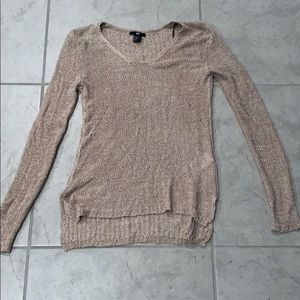 Dusty rose XS sweater from H&M